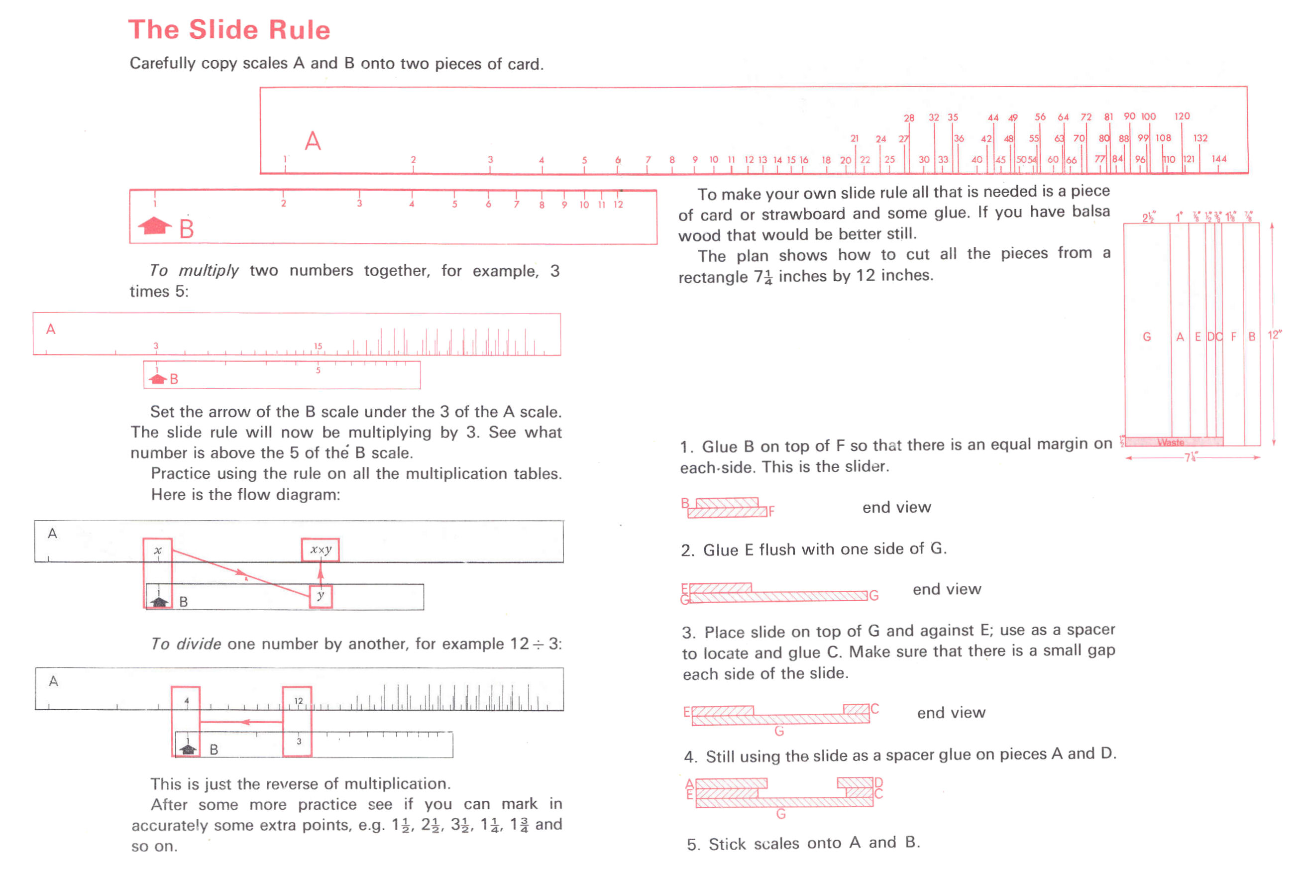 printable concrete slide ruler